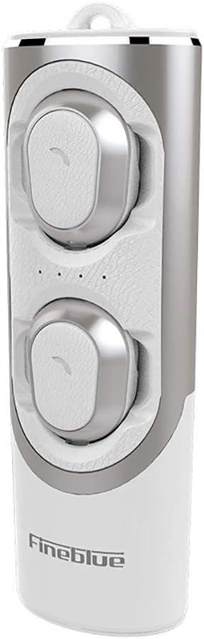 r/éduction du Bruit CVC kashyk /Écouteurs Bluetooth , /Écouteurs Intra-Auriculaires /Écouteurs de Sport sans Fil avec bo/îte de Chargement de Batterie Portable , 15H de Temps de Lecture Son st/ér/éo Clair