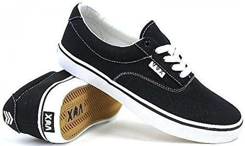 Vox Skate Shoes Savey Black White
