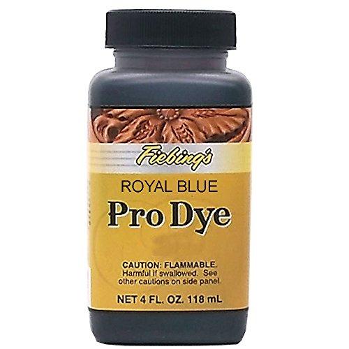 Pro Leather - Fiebing's Pro Dye, Royal Blue, 4 oz.