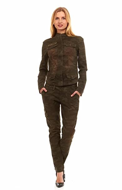 5c9fe14f51d1f Red Jeans Women's Military Army Fatigue Camo Cargo Pants: Amazon.ca:  Luggage & Bags