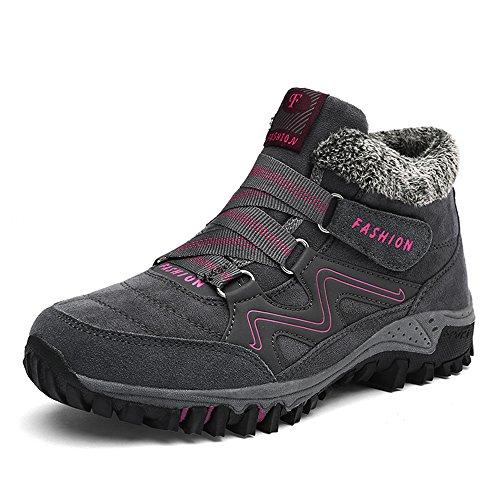Zapatillas de Botas Montaña Zaone Mujer Gris Outdoor Senderismo Trekking gxHwTq