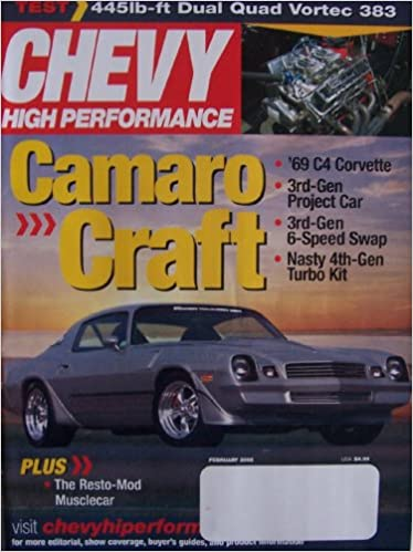 Chevy High Performance [ Feb  2005 ] Single Issue Magazine