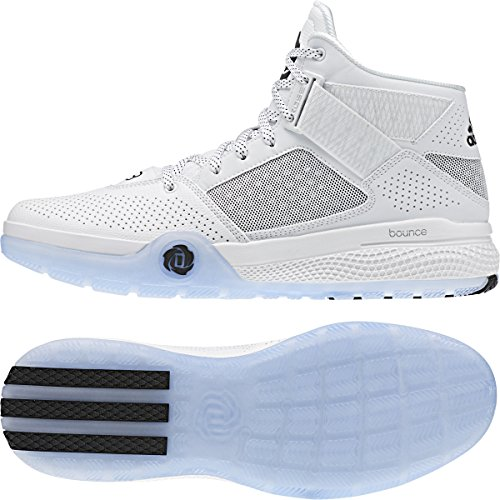 adidas D Rose 773 IV Basketball Shoes White/Black/White (8)