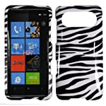Zebra Hard Case Cover for HTC HD7 HD 7 HD7S