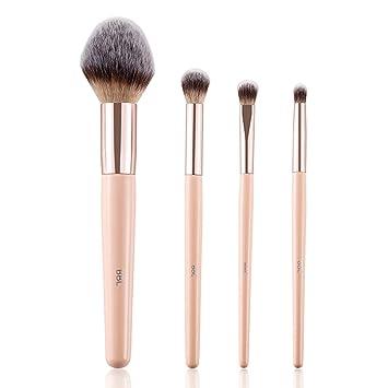 c0cb5446e464 BBL 4PCs Professional Makeup Brush Set, Premium Synthetic Hair Tapered  Foundation Powder Kabuki...