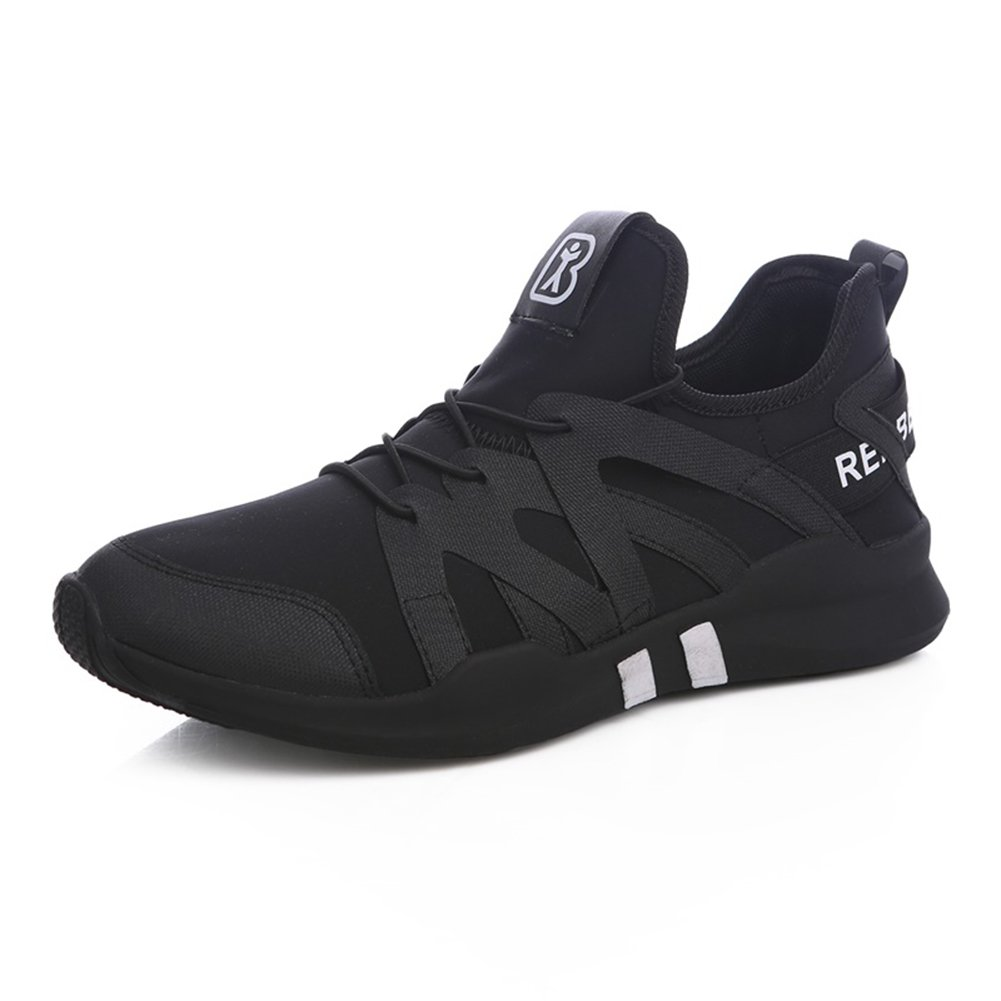YIXINY Schuhe Turnschuhe 1172511125 Frühling Und Und Und Herbst Atmungsaktive Bequeme Mode Schwarz-weiß Casual Herrenschuhe (Farbe   SCHWARZ, größe   EU42 UK8.5 CN43) fdd699