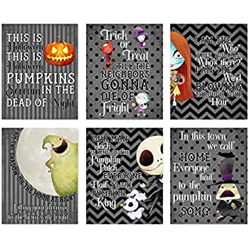 Amazon Com Personalized Nightmare Before Christmas Banner