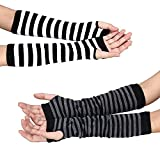 Women's Knitted Winter Arm Warmers Stretch Long