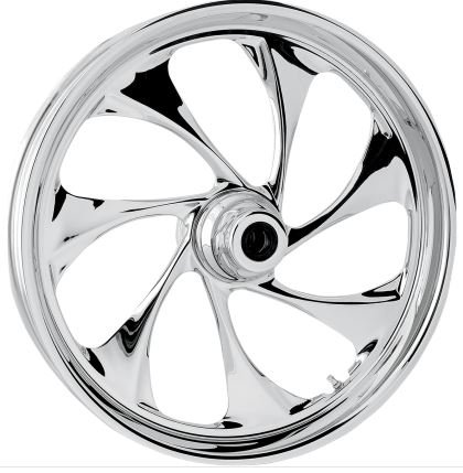 RC Components Drifter Chrome 21x2.15 Front Wheel , Color: Chrome, Position: Front, Rim Size: 21 (Rc Components Motorcycle Wheels)