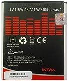 Micromax A115 / A116 / A117 / A210 / Canvas 4 Compatible Original Battery By Intex