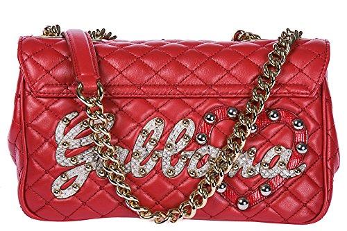 amp; sac Dolce Gabbana cuir l'épaule rouge en à femme lucia qAApEFndS