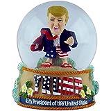 KC Hawaii President Trump With Surfboard Water Globe