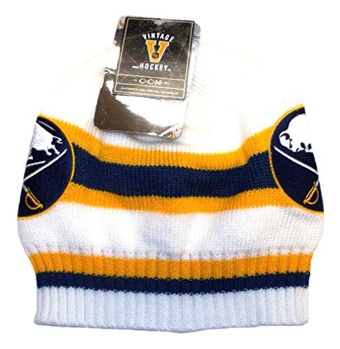 (CCM Buffalo Sabres Vintage Hockey Knit Hat)