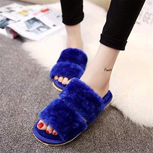 Pantofole Eu Camoscio Deed 37 Inverno Confortevole Donna E Casual Da Autunno 7FFxfqdv