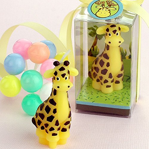(RedC Creative Giraffe Cartoon birthday Candle, Smokeless Cake candle and Party Supplies, Hand-made Cake Topper Decoration, Great Gift)