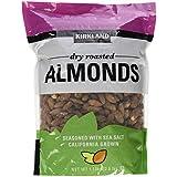 Kirkland Dry Roasted Almonds Net wt 1.13kg(2.5 lb)