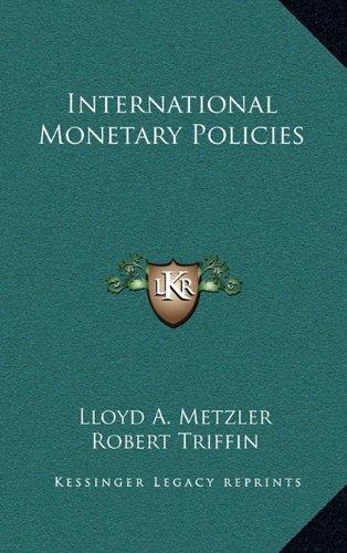 International Monetary Policies PDF