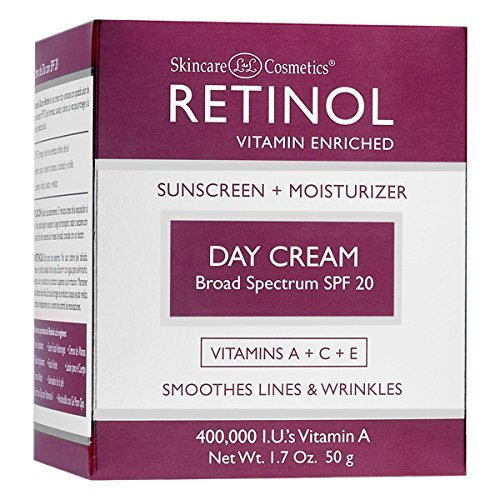 Skincare LdeL Cosmetics Retinol Day Cream, 1.7-Ounce Jar (Cream 1.7 Ounce Jar)