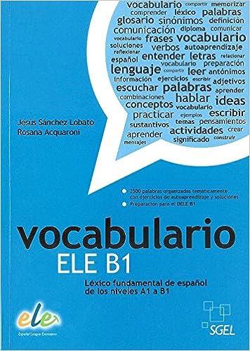 Vocabulario Ele B1 Amazones Jesús Sánchez Lobato Rosa