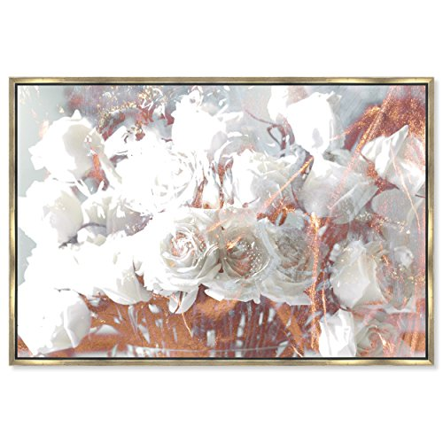 The Oliver Gal Artist Co. Rose Feast' Framed Fashion Wall Decor