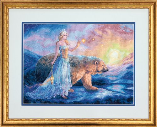 Dimensions Crafts NeedleCrafts Gold Collection Counted Cross Stitch, - Fairy Cross Stitch