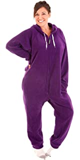 ae3ae0ce6d Amazon.com  Forever Lazy Footed Adult Onesies