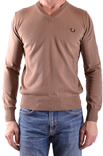 Fred Perry Homme MCBI128145O Beige Coton Maille