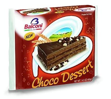 Balconi Chocolate Dessert Cake Pack Of 6 Amazoncouk Grocery