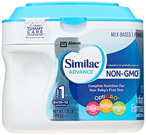 Similac Advance Infant Non-GMO Formula With Iron