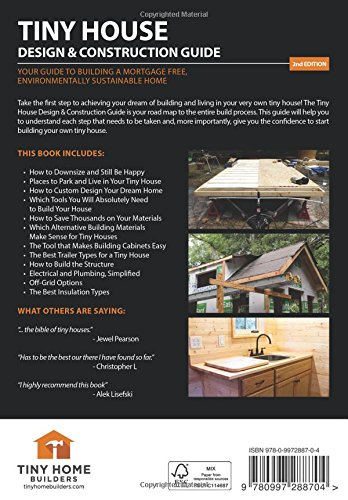 Tiny House Design U0026 Construction Guide   Livros Na Amazon Brasil   9780997288704