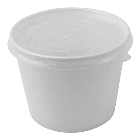 Amazoncom 100 Count Deli Containers Durable Food Storage
