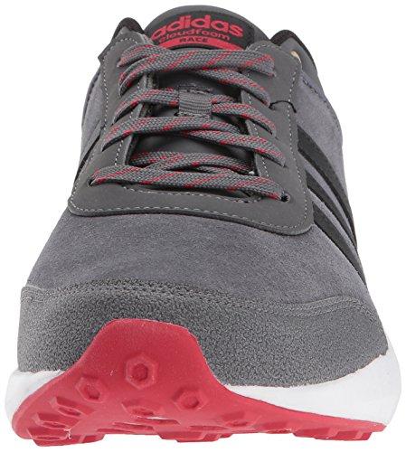 Adidas Neo Heren Cf Ras Running Schoen Grijs Vijf / Black / Scarlet
