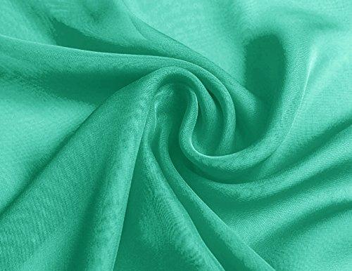 Boda Bufandas la de de noche Dresstells Green Chales Gasa de qxwYA6ta
