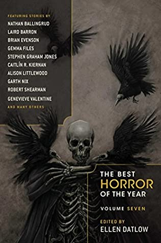book cover of The Best Horror of the Year Volume 7