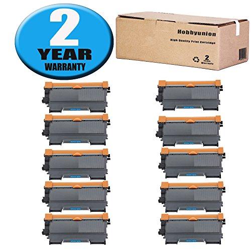 Hobbyunion High Yield TN450 Toner Cartridge 10 Pack Black Compatible for Brother HL-2130 HL-2132 HL-2220 HL-2230 HL-2240 HL-2240D HL-2242D HL-2270DW HL-2275DW; MFC-7240 MFC-7360N MFC-7365DN ()