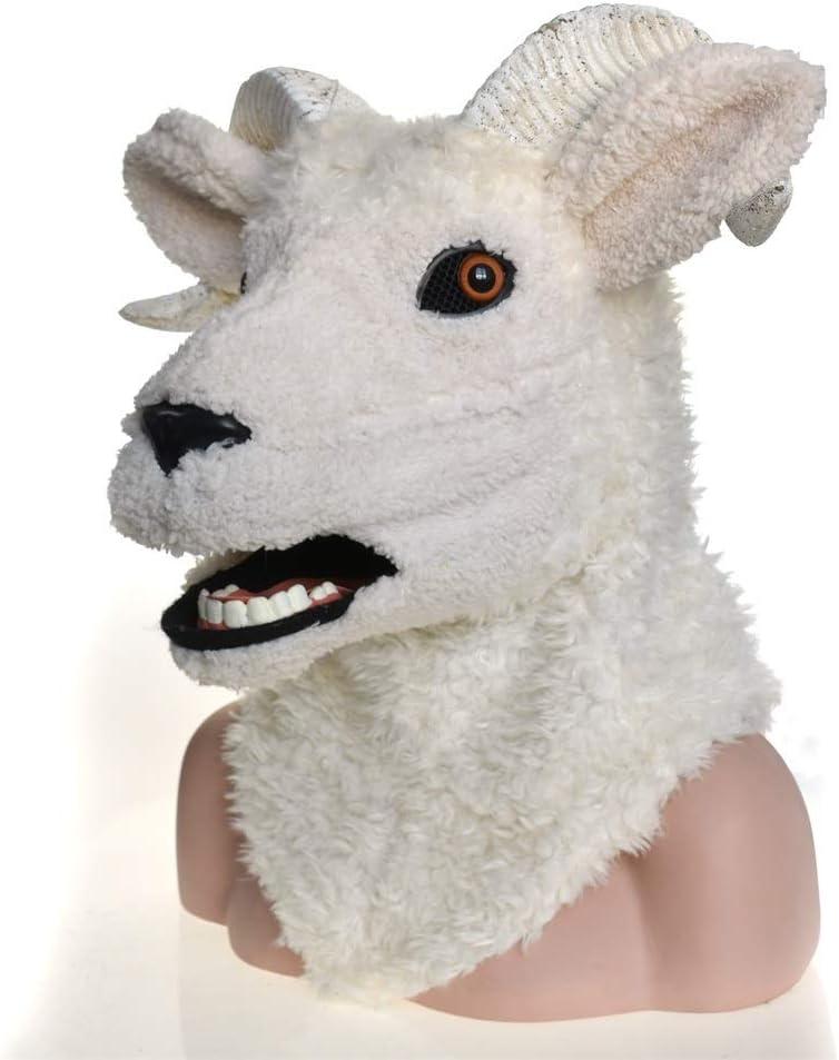 KX-QIN Disfraz de Carnaval de Cosplay Máscara de Oveja de Cordero ...