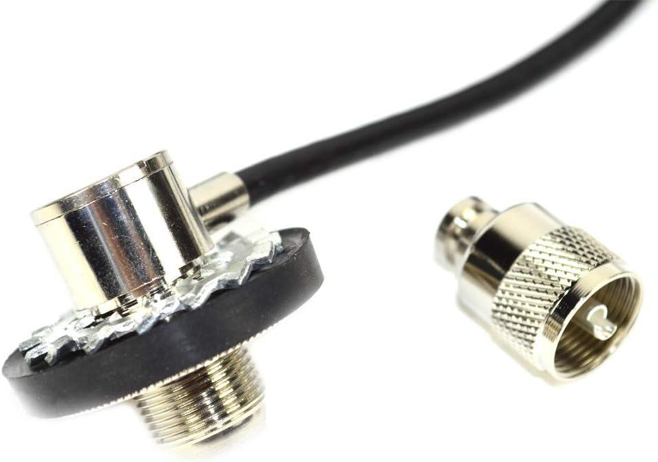 Conector Midland Cable Código T301 para Antenas roscadas