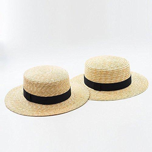 318e11121d3 Amazon.com  GRAS women s summer straw panama hat with custom width ...