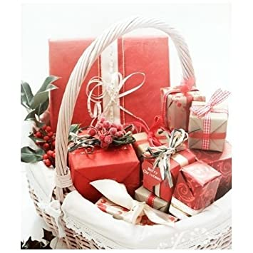 Beauty hamper all individually gift wrapped in a luxury wicker beauty hamper quotall individually gift wrapped in a luxury wicker basketquot basket may negle Image collections