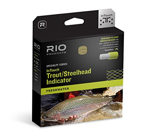 RIO Products Fly Line Intouch Trout/Steelhead Indicator Wf8F, Orange-Moss-Yellow