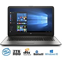 HP 17-x037DS Intel N3710 Quad-Core, 8GB, 2TB HDD, 17.3 HD+ WLED, Notebook