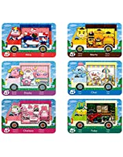 $32 » 6 Pcs ACNH NFC Tag Animal Game Crossing Cards Rare Villager Compatible With Switch for New Horizons