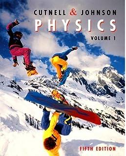 Cutnell, johnson: physics, 6th edition student companion site.