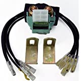 Universal Solenoid Starter Relay Switch With Multiple Connectors ( UTV, ATV, Motorcycle, Watercraft )