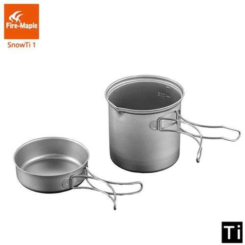 Adventure, Sports & Outdoors Fire Maple SnowTi 1 Ultralight Titanium Cookware