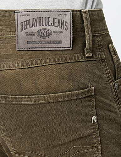 mud 40 Jeans Anbass Marrone Uomo Replay zwTqRSHx