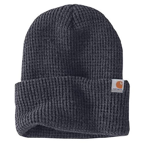 Carhartt Men's Woodside Hat, Coal Heather, OFA -