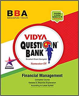 Financial Management 4th Sem Bba Question Paper