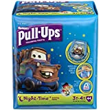 Pull-Ups Training Pants Night Time for Boys, Size 3T-4T, 44 Count (Pack of 2)