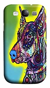 Doberman front Polycarbonate Hard Case Cover for Samsung Galaxy S3/Samsung Galaxy I9300 3D